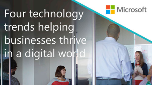 Four Technology Trends Helping Businesses Thrive in a Digital World