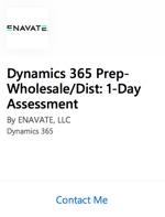 Dynamics 365 Prep-WholesaleDist 1-Day Assessment-2