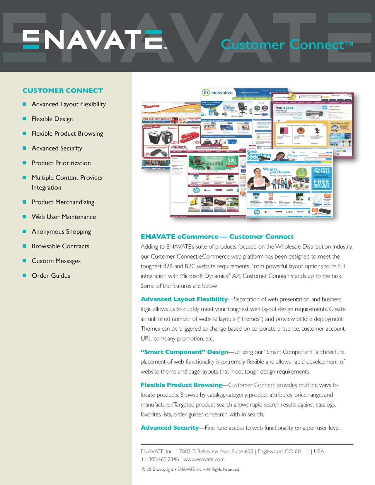 Snap Shot: Customer Connect B2B eCommerce