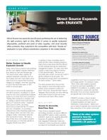 Direct Source Expands with ENAVATE's Dynamics AX Solution