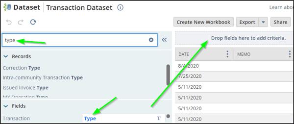 Fig 6 Dataset Transaction type