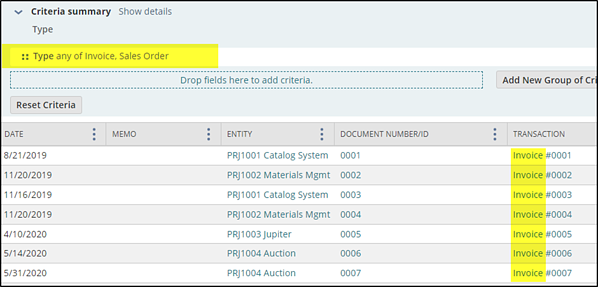 Fig 8 dataset preview sales orders invoices
