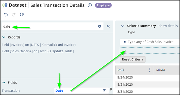 Fig 9 transaction date