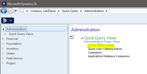 Microsoft Dynamics SL - Administration - Figure 3