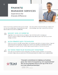 Managed Services info sheets