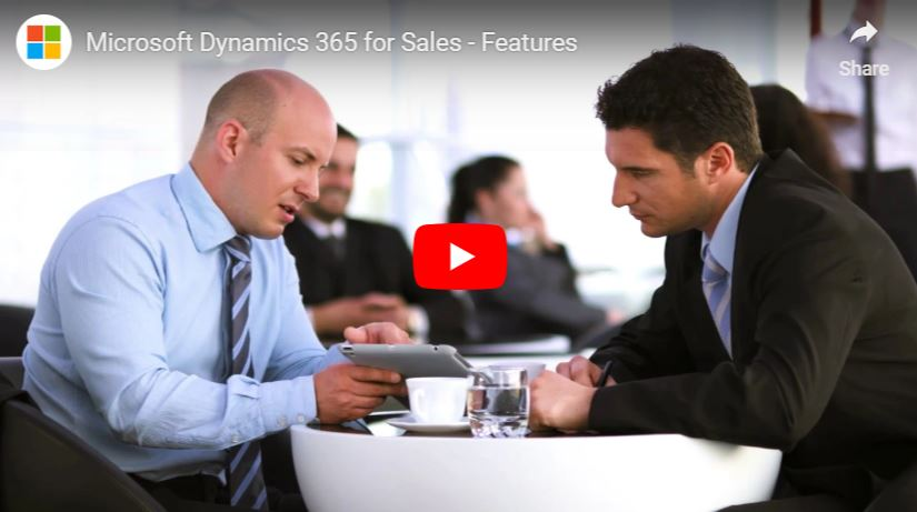 Dynamics 365 for Sales features