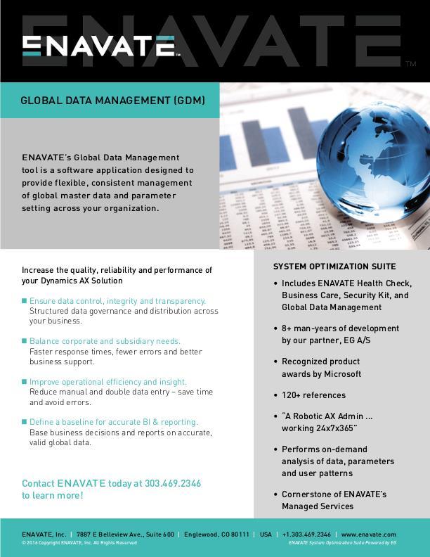 Global Data Management