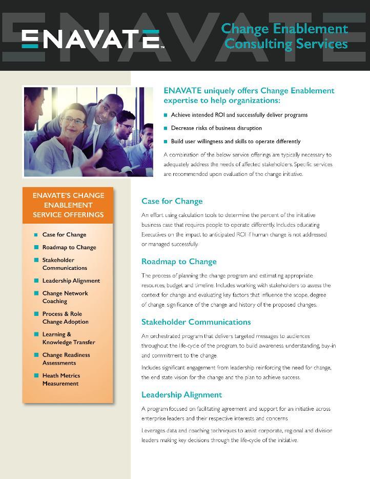 Change Enablement Services