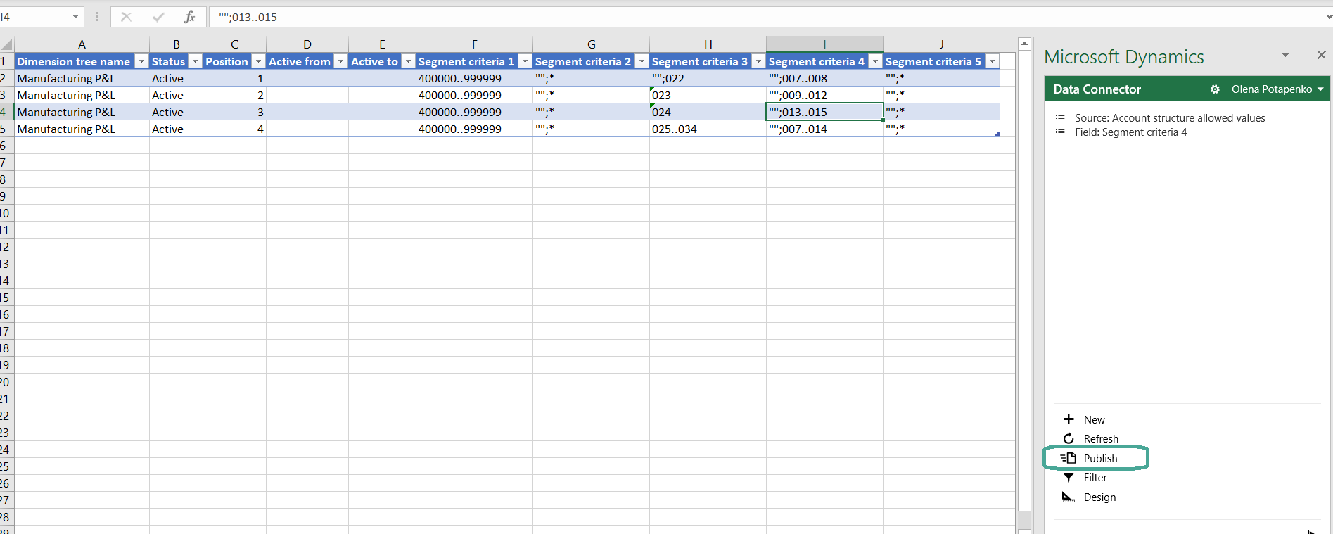 Export to Excel - fig 2