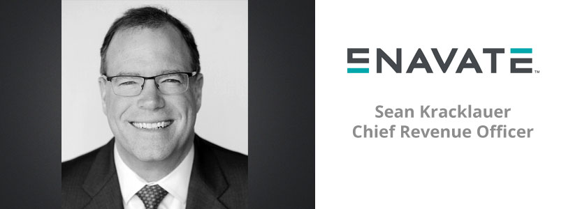 Sean Kracklauer joins ENAVATE as Chief Revenue Officer