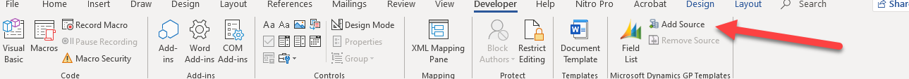 navigate to XML report