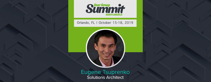 ENAVATE Solutions Architect Eugene Tsuprenko will speak at User Group Summit North America